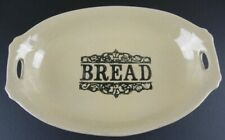 Vintage Moira Pottery English Stoneware Bread Serving Dish Platter England