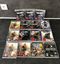 15 Spiele PlayStation 3 Call Of Duty Spielesammlung PS3 COD Games - TOP