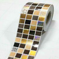 3M Self Adhesive Mosaic Wall Border Skirting Sticker Wallpaper Home Decor Modern