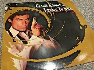 "GLADYS KNIGHT - LICENCE TO KILL (JAMES BOND) -BUY 1 GET 1 FREE 12"" VINYL RECORDS"