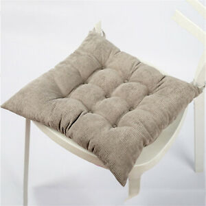 Square Seat Cushion,Soft Elastic Chair Pads with Ties,NonSlip Chair Pad,40*40CM