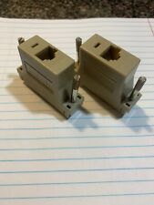 Lot Of 2 Ncr Aloha Pos Epson Printer Serial Db25 Pin To Rj45 Cat5 Female Cn10328