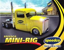 """2014 Speedco Mini-Rig """"2nd issued"""" Tractor Pull postcard"""