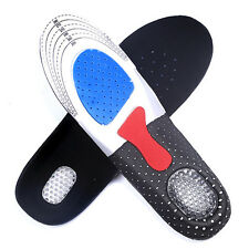 Man Gel Insoles Orthotic Sport Running Insert Shoe Pad Arch Support Cushion