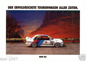BMW E30 M3 poster DTM retro Motorsport posters on CD/DVD -  44 posters