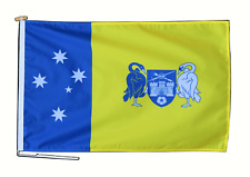 More details for australian capital territory flag 3'x2' (90cm x 60cm) with rope and toggle