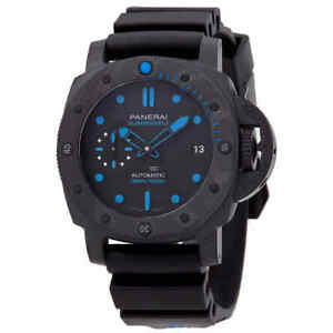 Panerai Submersible Carbontech Automatic 300 Meters Men's Watch PAM00960