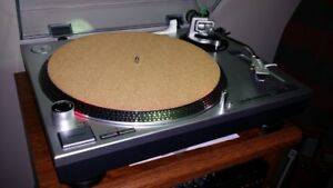 295mm Turntable Record Platter Mat Audiophile Upgrade Cork & Rubber 3mm thk
