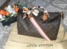 Authentic LOUIS VUITTON Speedy 35 Monogram Handbag,Crossbody,US Seller,Ship Fast