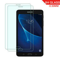 2X Dooqi Tempered Glass Screen Protector for Samsung Galaxy Tab A 7.0 / T280