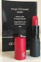 Giorgio Armani Rouge D'Armani Matte Lipcolor 400 1.4g/0.04 oz. Travel Size