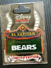 AUTHENTIC Disney Nature Bears Marquee Pin El Capitan Theatre LE 400 DSF DSSH