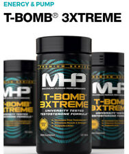 MHP T-BOMB 3XTREME 168 Tabs Extreme Testosterone Booster,Nugenix,Sex Drive