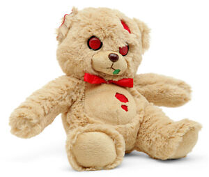 Zombie Pets Creepy Cuddlers Plush Toy By Mezco Deadington Ruxworth Bear NEW