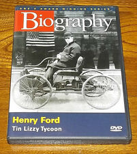 A&E's Biography - Henry Ford (DVD, 2006) A & E - THE TIN LIZZY TYCOON