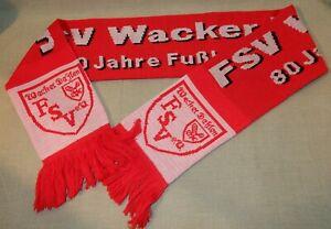 """Fussball Fan-Schal FSV Wacker Dahlen  """"80 Jahre Fussball in Dahlen"""""""