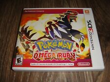 Nintendo 3DS Pokemon Omega Ruby with Case