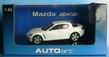 MAZDA RX-8 WHITE LHD AUTOART # 55905 1/43 JAPAN CAR NEW VOITURE MINIATURE WEISS