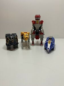 1991 Bandai Mighty Morphin Power Rangers Deluxe Megazord Incomplete