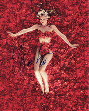 Mena Suvari Signed Autograph 8X10 Photo - American Beauty Babe, American Pie