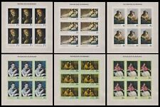 Burundi 1968 Paintings Stamp set - MNH Imperforate Full Sheets.............A5605