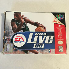 NBA Live 99 (Nintendo 64, 1998)