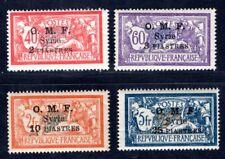 SYRIE 1920 Yvert 68,70,72-73 ** POSTFRISCH TADELLOS(I3158