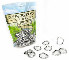 50 - Country Brook Design® 1 Inch Heavy Welded D-Rings