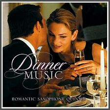 Perfect Dinner Music CD, Romantic Saxophone Quintet Classical, Bargain Buy, NEW