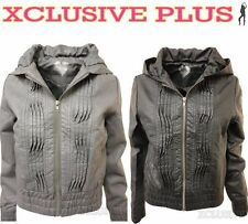 Unbranded Polyester Casual Zip Coats & Jackets for Women
