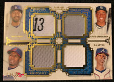 2014 Museum Collection Primary Pieces Four Player Quad Relics Gold #PPFQR-10