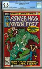 POWER MAN #66 CGC 9.6 OW/WH PAGES