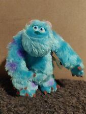 "Hasbro Disney Pixar Monsters Inc Sulley Stuffed Plush 6"" 2001"
