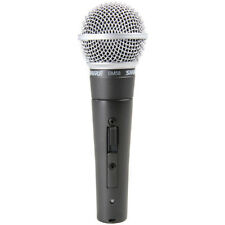 Shure SM58S Cardioid Dynamic Microphone with built in On-Off Switch, New!