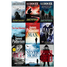 James Patterson MAXIMUM Ride Series 9 Books Collection Set Pack