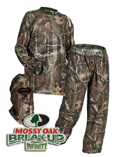 HECS Suit Deer Hunting Clothing - 3 Piece Shirt, Pants, Headcover | SM <-> 3X