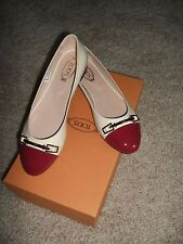 Tod's Beige Patent Ballet Flat (Pelle Accessorio), Size 37 (7), New with box