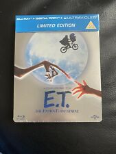 E.T. The Extra-Terrestrial - Limited Edition Steelbook new and sealed Blu Ray