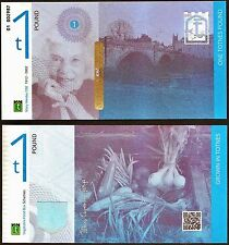 England / Totnes - £1 Banknote, 2014 Series, Transition Town Currency. UNC.