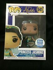 Funko Pop! Disney Princess Jasmine Diamond Collection Funko Shop Exclusive #541
