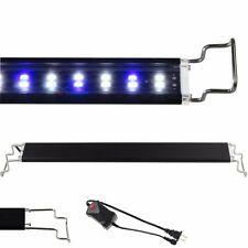 "12""-48"" LED Light Aquarium Fish Tank 0.5W White & Blue Marine FOWLR"