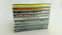 Nine Classic Rock CDs Eagles, Air Supply, Erasure, Elton John, Fleetwood Mac