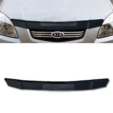 San Front Black Hood Guard Bug Shield Molding Trim for KIA 2006 - 2011 Rio Pride