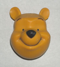 DISNEY WINNIE THE POOH HEAD FACE RESIN REFRIGERATOR FREEZER MAGNET