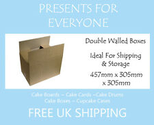 "5 x Shipping & Moving Boxes Storage Boxes 18"" x 12"" x 12"" Inches"