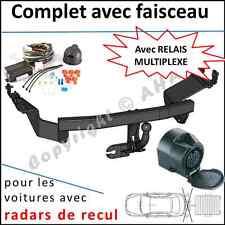 ATTELAGE remorque Peugeot 4007 2007 à 2012 faisceau 13 br relais radars de recul