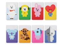 BTS / BT21 Clear Card Pocket Case Cover Holder Official KPOP MD Goods
