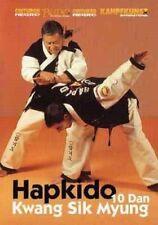 Hapkido Korean Karate Dvd Kwang Sik Myung dislocations takedowns throws