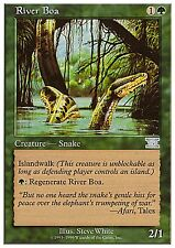 River Boa X1 FINE PLAYED Classic 6th Edition MTG Magic Cards Green Uncommon