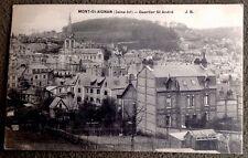 CPA. MONT SAINT AIGNAN. 76 - Quartier Saint André.